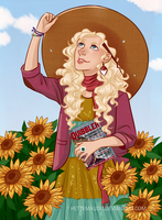 Luna Lovegood by HetteMaudit