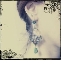 Victorian Chandelier Earrings by Aranwen