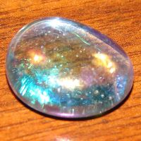 Aquamarine Tumbled Glass Jewel by FantasyStock