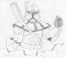 ARC Trooper- Thumbs Up (SS2012) by TheXHunter08