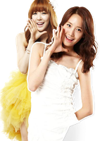 SNSD YoonFany PNG by Kpopified