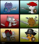 Sword Cats by KupoGames