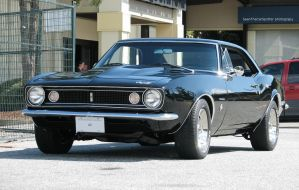 67 Camaro by SeanTheCarSpotter