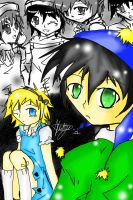 Tweek In wonderland Cover by kagomelover245