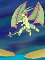 Pokemon - Flygon by dragonfire53511