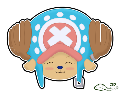Chopper Sticker by The-Emerald-Otter