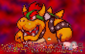 Bowser and his Troops by Chrispriter89