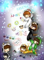 SHINee's hello Baby by Rebe-chan-vk