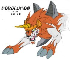 Fan Art- Dorulumon by Yark-Wark