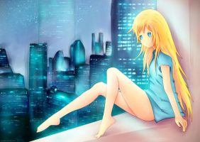 boring at night by danzE26