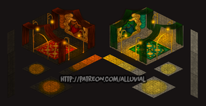 Patreon: Throne Room (Builder's Pack) by Alluvial