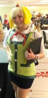 My Isabelle from Animal Crossing at Ohayocon 2014 by PrettyAndPolished