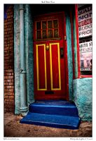 Red Door Two by yellowcaseartist