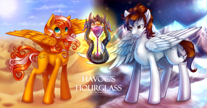 Havoc's Hourglass by LimreiArt