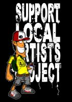 Support Local Artists Klax by silifulz
