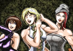 Powergirl : Humanite Games (5) Just wanna have fun by adamantis