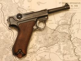 1914 Luger by raftergoblin