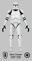 Clone Trooper - Phase II by Artifician