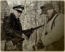 Is not it time to you comrade, to  eastern front? by pilskalns