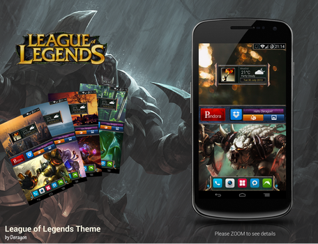 League of Legends Theme by Deragon2