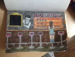 Beck's Coffee Shop by Rosette82