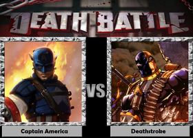 Death Battle - Captain America vs Deathstroke by Rassilon001
