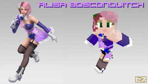 Alisa Bosconovitch Minecraft Skin by kovec