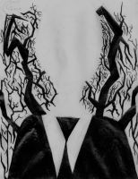 Slender man by TimmehMonster