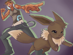 Poke/Capumon - Darwyn and Charlie by eXed-OUT