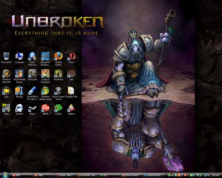 Syn's Desktop - UPDATED by Synwolf