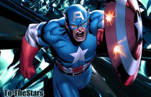 Marvel Comics - Captain America Wallpaper by To-TheStars