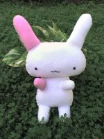 cute bunny plushie by VioletLunchell