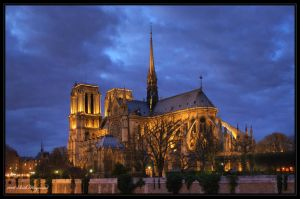 Notre Dame Cathedral by mym8rick