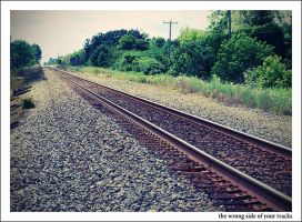 The Wrong Side of Your Tracks by MollyMartin