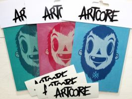 three heads fanpack by artcoreillustrations