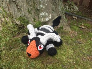 Pokemon - Houndoom Amigurumi by Krejdar