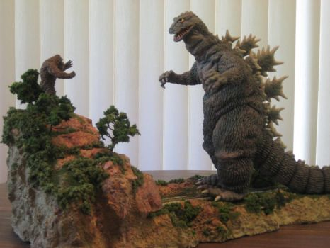 Godzilla vs King Kong by Legrandzilla