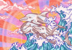 Sophie's Dolphins by OoOdanaOoO