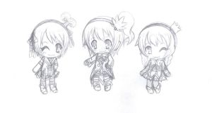 KANONNO chibis by ASB-Fan