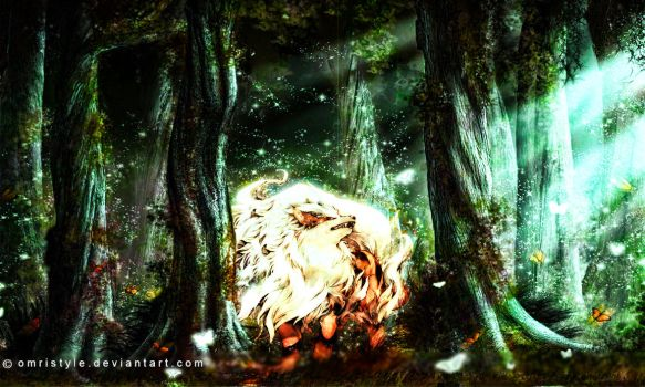 Arcanine The Legendary  Pokemon by OmriStyle