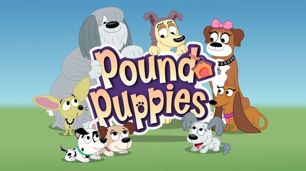 Pound Puppies Title Card Vector by ParanoidPuppiesInc