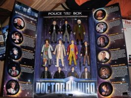 The 11 Doctors Figure Set by BrigadierDarman