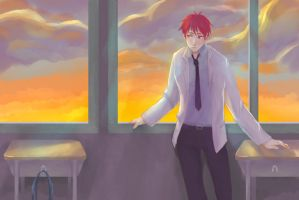 Akashi Seijuurou - After school by pop2810
