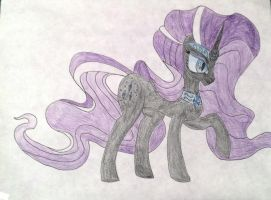 Nightmare Rarity by Clarenceboy