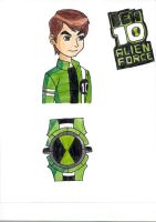 Ben 10 Alien Force by HeatGrade77