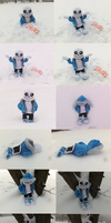 Plush Sans Snowdin Day (Spam dump) by Skeleion