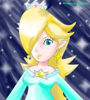 Rosalina the Star Princess by Bowser2Queen