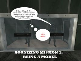 Agonizing Mission 1 by SkyWhiteFox