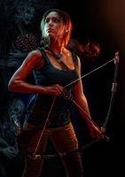 Rise of the Tomb Raider. Conquerer by Elen-Mart
