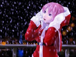 Kaho-chan: White Xmass by lordless